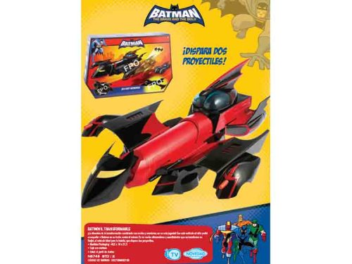 Batmóvil Transformable (Mattel)