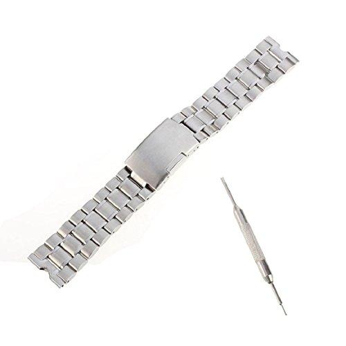 Malloom  22mm Sólido Acero Inoxidable Venda Reloj ..