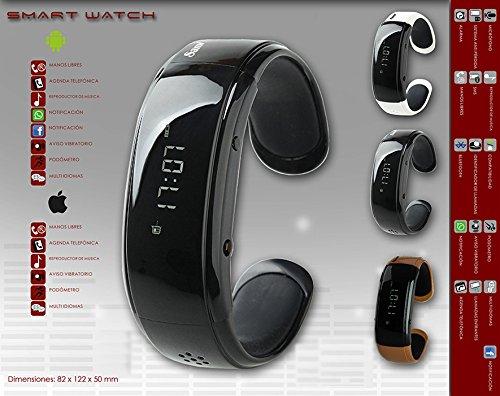 Reloj Inteligente con Bluetooth. Compatible con Android Smartphone/And