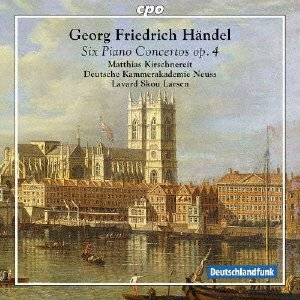 Haendel : Six concertos pour piano, op. 4. Kirschn... Oferta