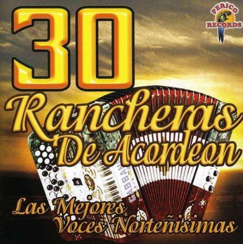 30 Rancheras de Acordeon. Ocasión