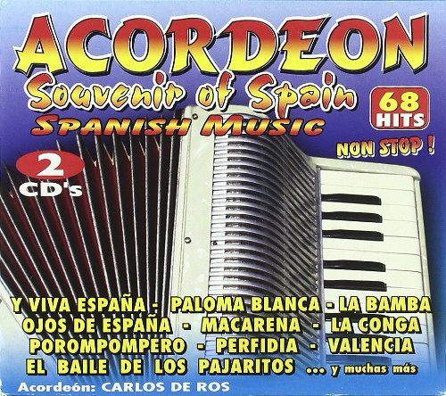 Acordeon Souvenir Of Spain 2cd