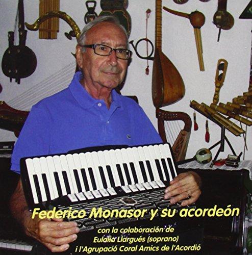 Federico Monasor y su acordeón con descuento