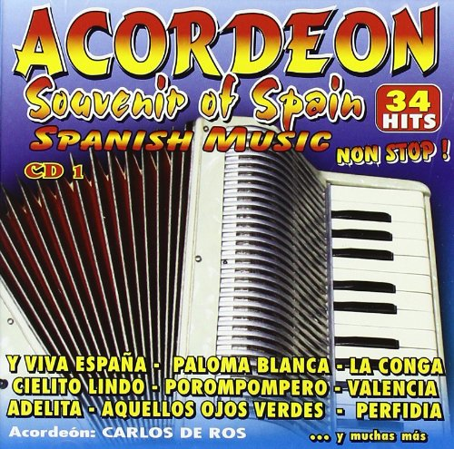 Acordeon Souvenir Of Spain Vol 1