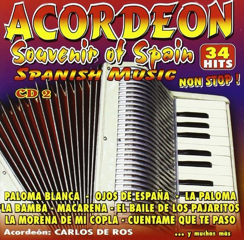 Acordeon Souvenir Of Spain Vol 2