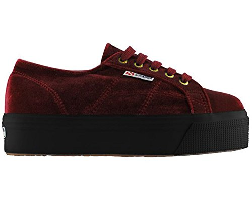 Superga 2790 Terciopelo Granate