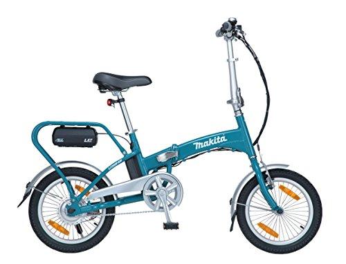 Bicicleta plegables, color turquesa. Ocasión