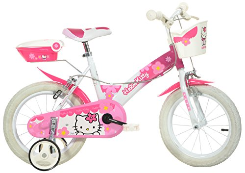 Bicicleta infantil (neumáticos de 14 ), diseño de Hello Kitty