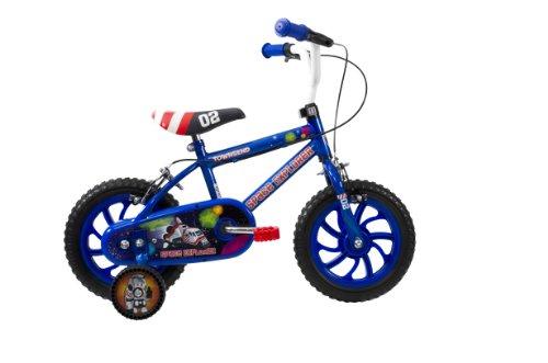 Bicicleta infantil para niño, 2 5 años3 a 5 Years, color azul. Saldo