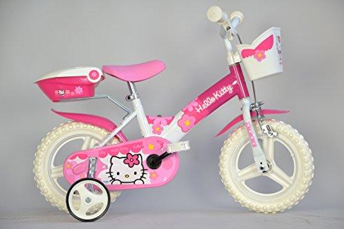 Bicicleta infantil (neumáticos de 12 ), diseño de Hello Kitty. Saldo