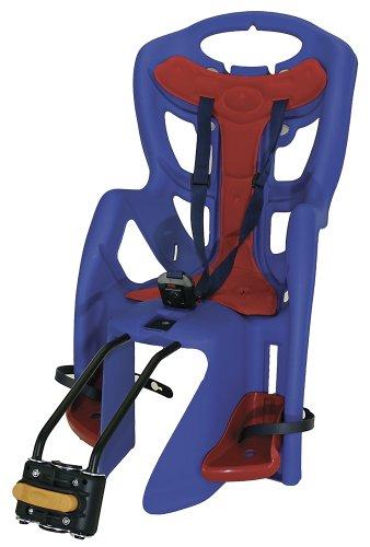 Silla infantil para bicicleta, color azul con descuento