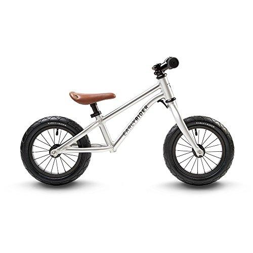Bicicleta infantil, color plata, talla 2. Oferta