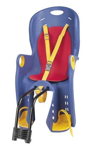 Silla infantil para bicicleta, color azul. Ocasión