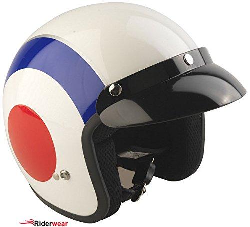 Frontal descubierto casco Viper RS 04 Target casco... Oferta