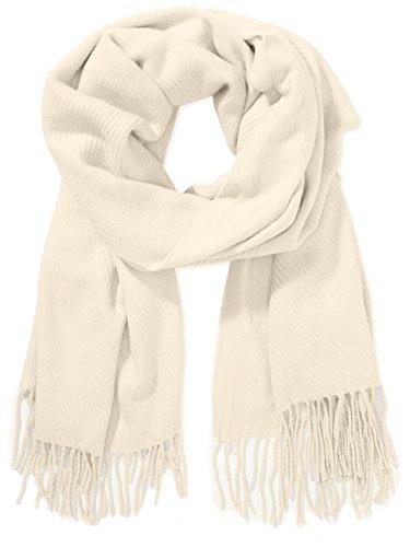 Bufanda con manga larga para mujer, color beige (whitecap gray 12 0304
