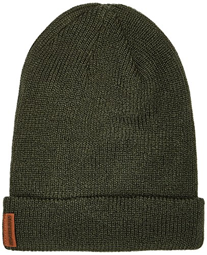 Gorro de punto para hombre, color bottle green, talla única