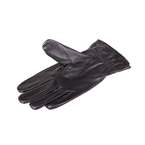 Dopobo Hombres guantes de cuero de piel de oveja g... Ocasión