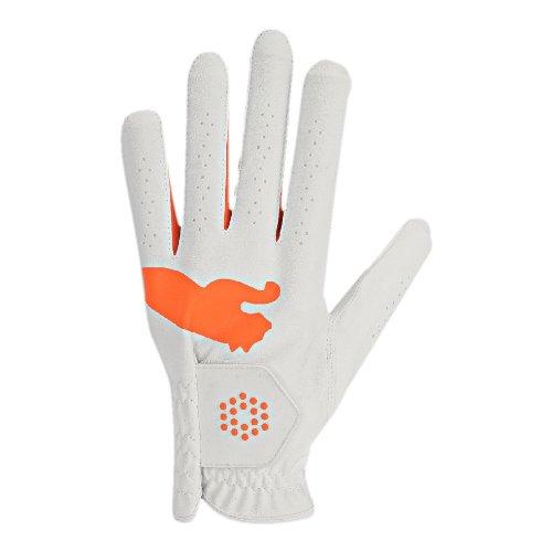 Guantes de golf para hombre, piel, diseño con logotipo de Puma, color