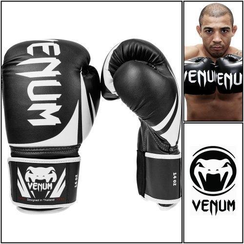 Venum Challenger 2.0 guantes de boxeo de piel para hombre, 10 oz 12 oz
