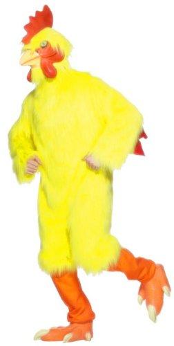 Disfraz de pollito para hombre, talla única (25503)