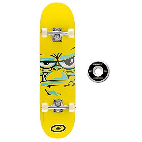 Skateboard ( arce ), color negro / amarillo. Ocasión