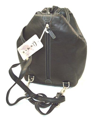 Pedro Collection de piel de mochila y bolso en un!