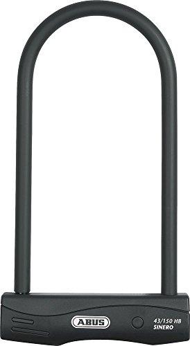 Candado para bicicletas (300 mm), color negro negro negro Talla:300 mm