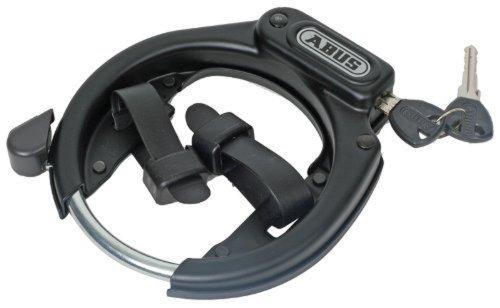 Candado para cuadros de bicicletas, color negro. Oferta