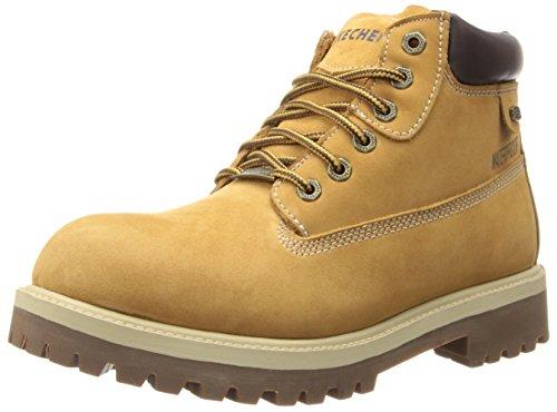 Botas de cuero para hombre, color beige (beige (wtn)), talla 47.5. Oca