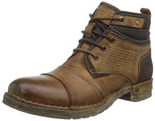 Botas de cuero para hombre marrón Braun (natur 650) 41 con descuento