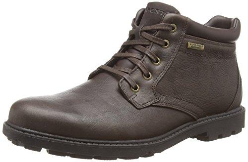 Botas de cuero para hombre marrón Braun (DK BROWN SMTH) 42.5. Oferta