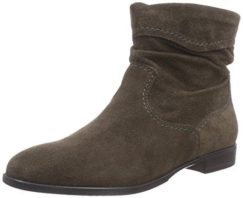 Botas de cuero mujer, color marrón, talla 38