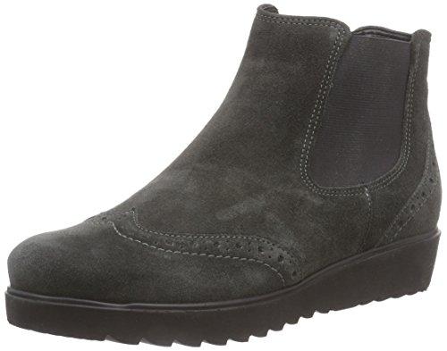 Botas de cuero para mujer, color gris, talla 39. Ocasión