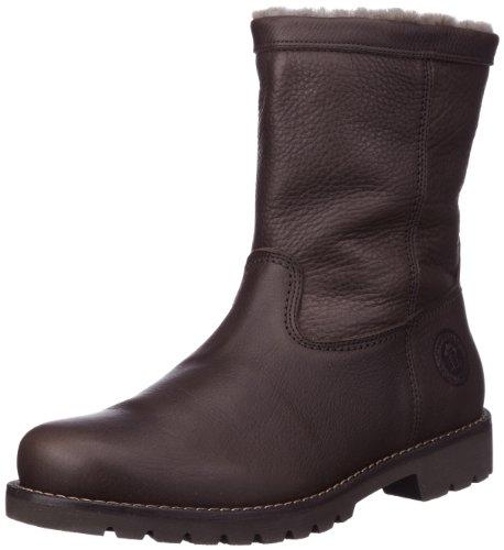 Botas Antideslizantes de cuero hombre, color marrón, talla 44. Oferta