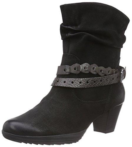 Botas de cuero mujer, color negro, talla 39. Ocasión