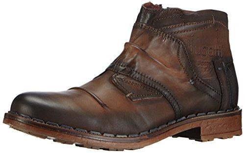 Botas de cuero para hombre marrón marrón (cognac 644) 44. Ocasión