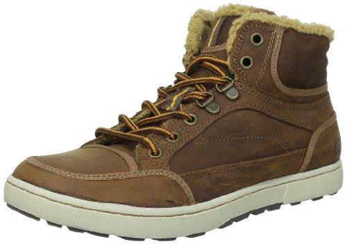 Botas de cuero para hombre, color marrón, talla 41. Ocasión